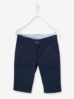 Boys-Shorts-Boys' Cotton and Stretch Linen Chinos