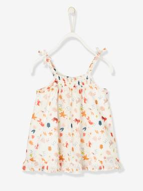 Baby-Dresses & Skirts-Printed Savannah Dress for Newborn Babies
