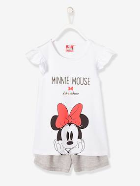 Girls-Nightwear-Girls' Printed Minnie® Pyjamas with Shorts