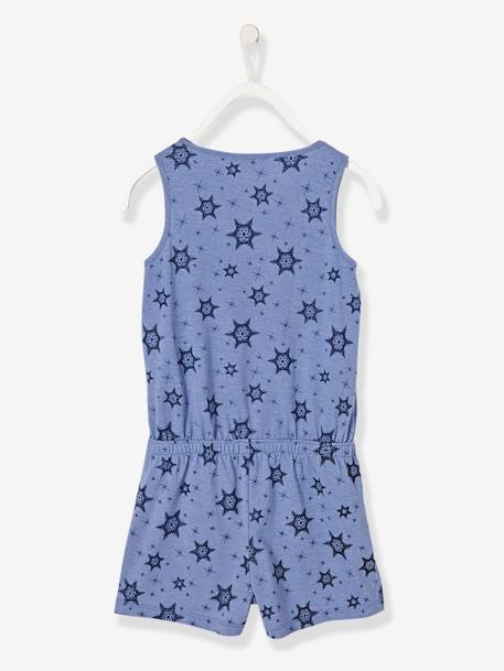 Girls' Frozen® Playsuit BLUE MEDIUM MIXED COLOR - vertbaudet enfant