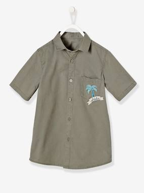 Boys-Shirts-Boys' Short-Sleeved Shirt
