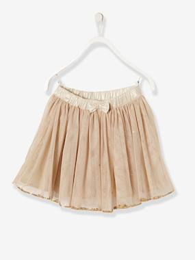 Girls-Girls Glitter Skirt