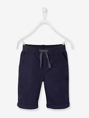 Short & Bermuda - Vertbaudet Fashion specialist for kids and baby : clothing, shoes and accessories-Boys' Poplin Bermuda Shorts