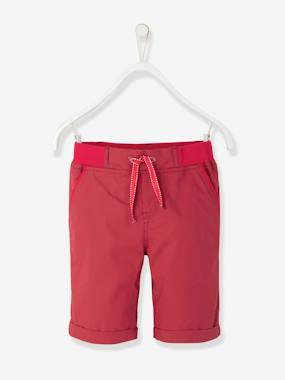Boys-Shorts-Boys' Poplin Bermuda Shorts