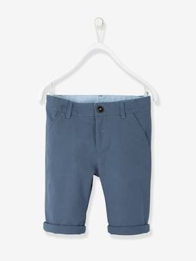 Party collection-Boys-Boys' Cotton and Stretch Linen Chinos