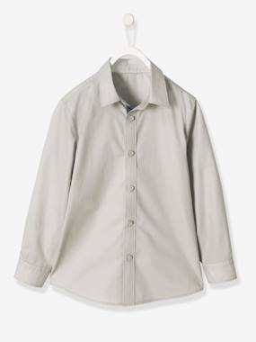 Outlet-Boys' Poplin Shirt