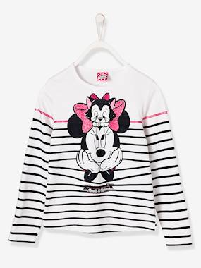 Minnie and Mickey-Girls-Girls' Striped Minnie® Top