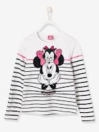 T-shirt fille Minnie® rayé  - vertbaudet enfant