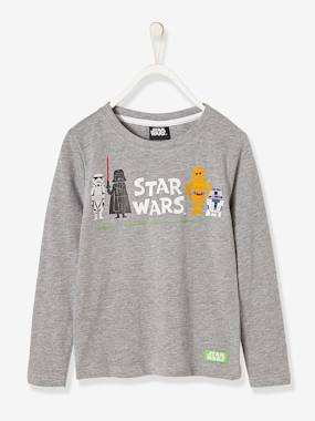 Vertbaudet Collection-Boys-Boys' Printed Star Wars® Sweatshirt