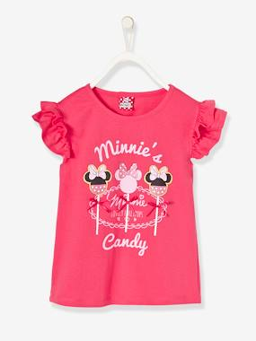 Minnie and Mickey-Girls' Printed Minnie®  Top