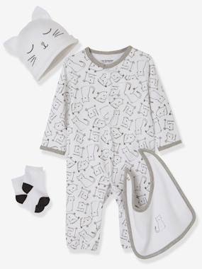Baby-4-Piece Set for Newborn Babies