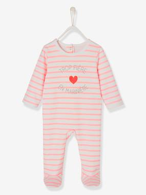 Baby-Pyjamas-Babies' Fleece Pyjamas, Press-studs on the Back