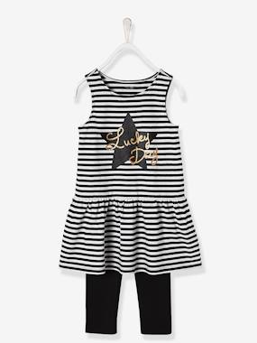Vertbaudet Sale-Girls-Girls' 3-Piece Outfit