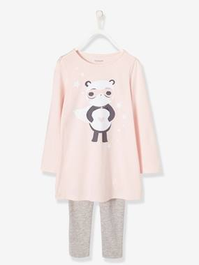 Mid season sale-Girls-Nightwear-Girls' Nightie + Leggings