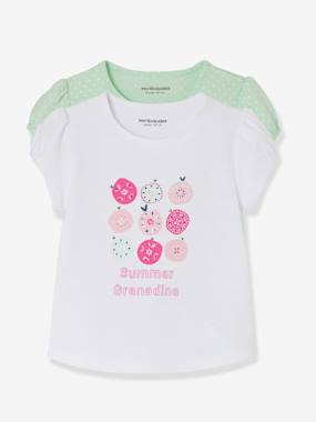 Mid season sale-Baby-Pack of 2 Baby Girls' Assorted Tops