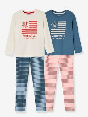 Happy Price Collection-Boys-Boys' Pack of 2 Mix & Match Pyjamas