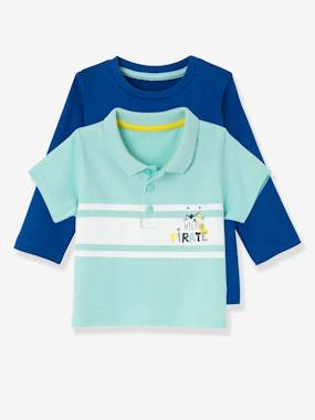 pirate-Baby Boys' Pack of 2: Top & Polo Shirt