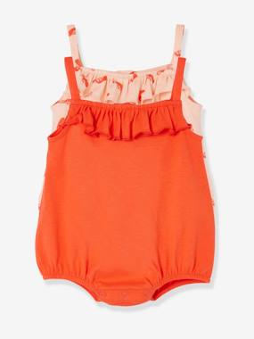 Baby-Dungarees & All-in-ones-Pack of 2 Baby Beach Playsuits Toucans