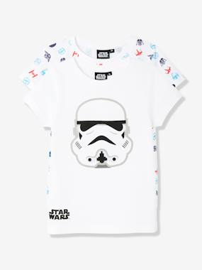 Vertbaudet Sale-Boys-Boys' Pack of 2 Star Wars® T-Shirts
