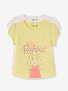 Outlet-Baby-Pack of 2 Baby Girls' Assorted Tops