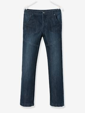 bas-WIDE Fit - Boys' Straight Cut Trousers