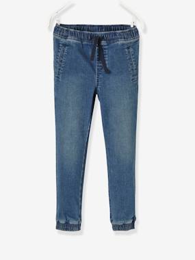 Boys-Jeans-Boys' Denim Joggers