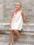 Girls' Dress with Decorative Bow  - vertbaudet enfant
