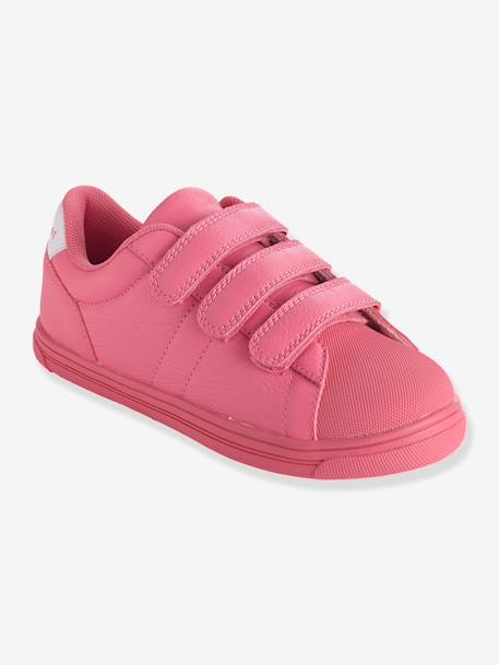 Trainers With Touch N Close Fastening Pink+White - vertbaudet enfant
