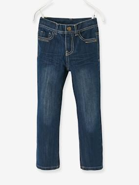 Boys-Jeans-Boys' Indestructible Straight Cut Jeans
