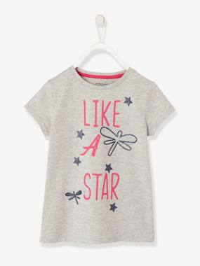 Girls-Sportswear-Girls' Sports T-Shirt with Sequins
