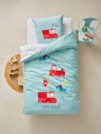 Children's Duvet Cover & Pillowcase Set, Nee-Naw Theme  - vertbaudet enfant