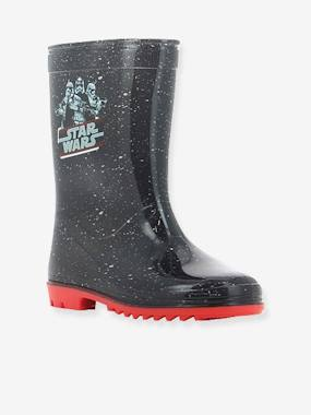 Vertbaudet Sale-Shoes-Boys Footwear-Boys' Wellies, Star Wars® Theme