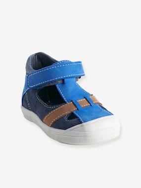 Shoes-Baby Footwear-Baby Boy Walking-Sandals-Boys Leather Sandals