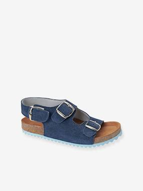 Shoes-Boys Footwear-Sandals-Boys Leather Sandals