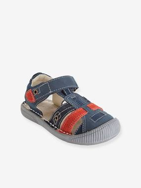 Bonnes affaires-Shoes-Boys Leather Sandals, Designed For Autonomy