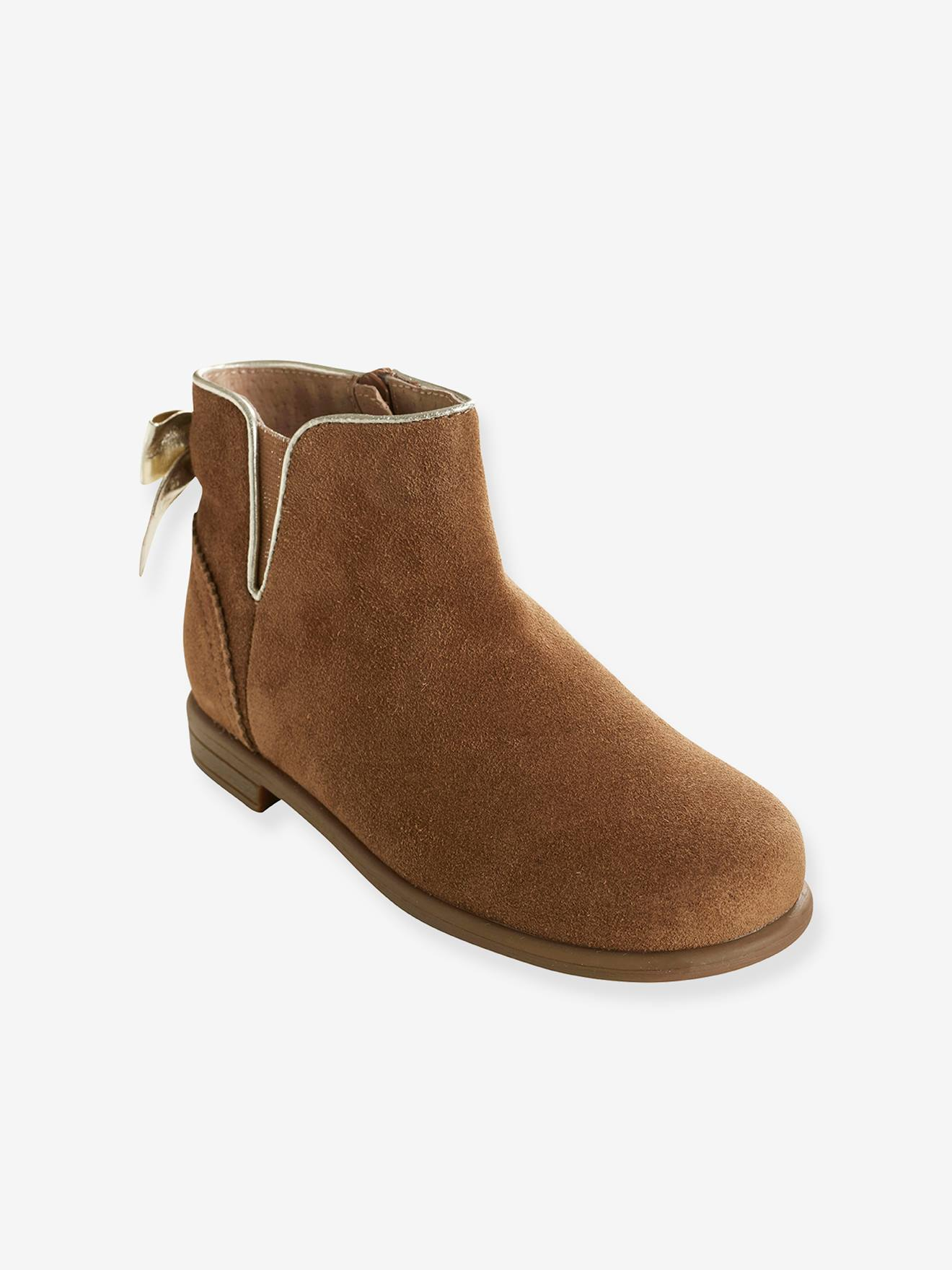 Boots Cuir Boots Fille CaramelChaussures Cuir Fille wPk0nO