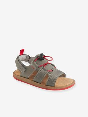 Outlet-Shoes-Boys' Sandals with Touch 'n' Close Fastening Tab