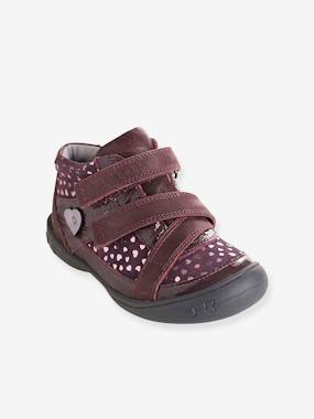 Outlet-Bottines cuir fille collection maternelle