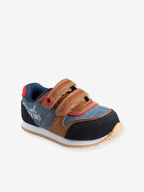Vertbaudet Collection-Shoes-Boys' Trainers with Touch 'n' Close Fastening Tab