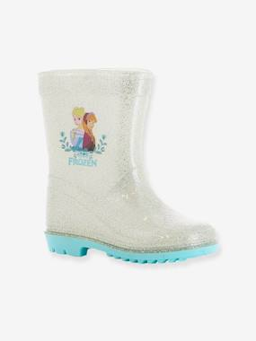 T-shirts-Girls' Frozen® Wellies with Glitter