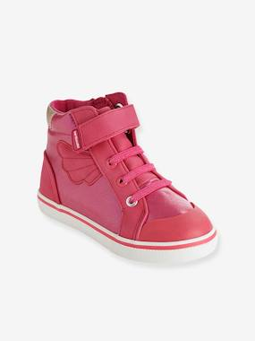Dress myself-Shoes-Girls High-Top Trainers, Designed For Autonomy