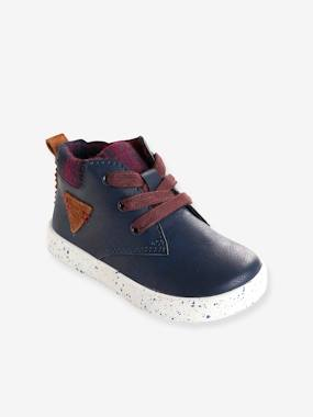 Vertbaudet Collection-Shoes-Boys' Boots with Laces