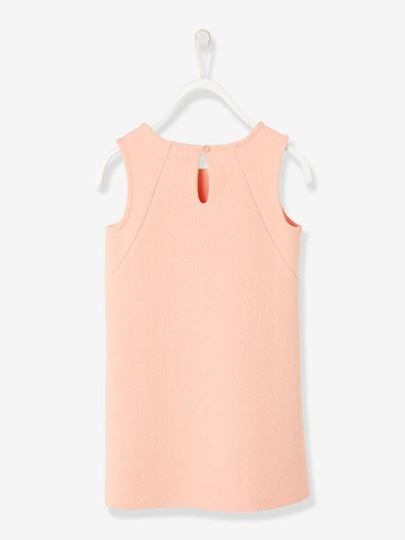 Girls' 2-Piece Outfit PINK LIGHT SOLID - vertbaudet enfant