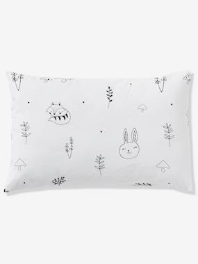 Vertbaudet Collection-Baby Pillowcase, Magic Forest Theme
