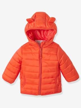 Baby-Outerwear-Coats-Babies' Lightweight Jacket with Stylish Hood