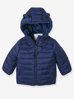 Baby-Outerwear-Babies' Lightweight Jacket with Stylish Hood