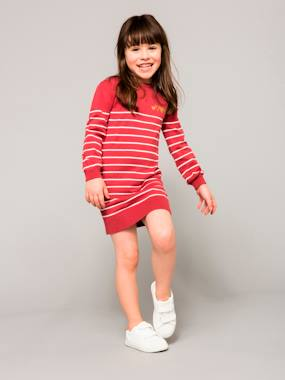 Happy Price Collection-Girls-Girls' Knitted Dress