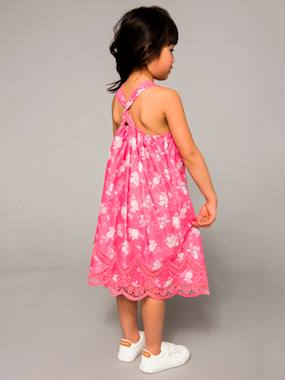 Vertbaudet Collection-Girls Printed Occasion Dress