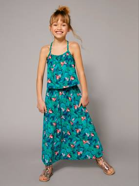 Vertbaudet Collection-Girls' Long Dress