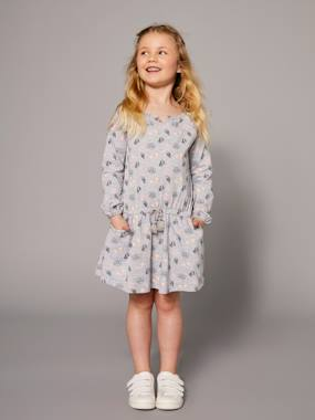 Mid season sale-Girls' Printed Dress